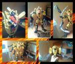Bionicle MOC: Daxidous the executioner by TheAxelandx1