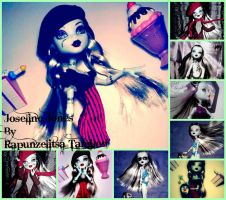 Joseline Jones: Monster High Youtube contest by RapunzelitsaTangled