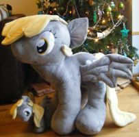 HUGE Custom My Little Pony Plush Derpy Hooves by eponyart