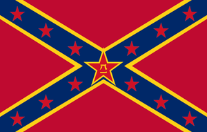 Flag of Chinese Dixie by GeneralHelghast
