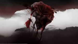 Bloody Rose by Veves