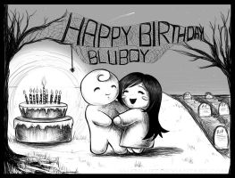 Happy Birthday Bluboy by ShamiART
