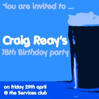 craig's invite by haighy