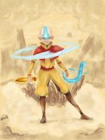 Avatar Aang by Resawe