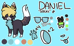 Daniel Reference Sheet 2013 by campfyre