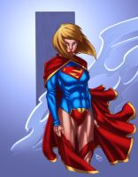 Supergirl by lummage