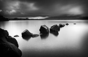 Rocks in the loch by marcopolo17