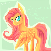 She can be a REAL MEANY by Renaifoxi