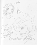 Ghost Rider Sketches by CureMyBlackendHeart