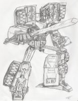 Robots in Disguise Scourge by PowermasterPrime