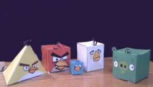 Cubee - Angry Birds by 7ater
