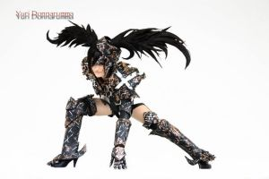 Insane. Black Rock Shooter by Elektra86