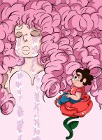Steven and Rose Quartz by KirstyEmma