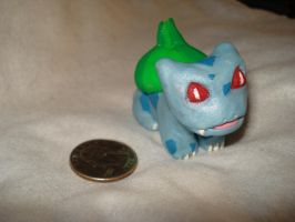 Bulbasaur Sculpey Version by RedKymaera