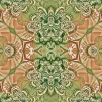 Muted Colors Kaleidoscope by wildwanderingirl