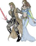 Anakin and Padme by theaven