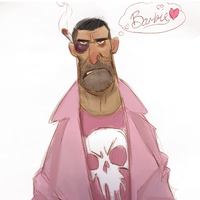 The Pink Punisher by Corey-Smith