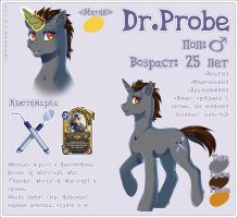 Probe reference sheet by Margony
