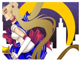 Sailor Moon by Hinapouri