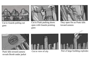 Winter King Scene 1 Page 2 Storyboard by gzapata