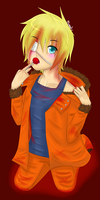 Kenny McCormick by xMomoko