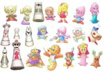 More Kirby characters by gerugeon