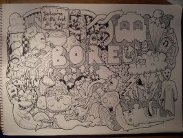 Doodle - Bored by MiniMojo