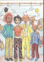 The Abarat Gang by clive-barker-club