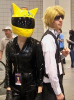 Animazement 2013: Celty and Shizuo Cosplay by naruto6393