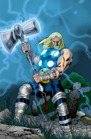 Ultimate Thor Cover by Pleurgh