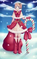 Christmas Elf by WaveringHeart