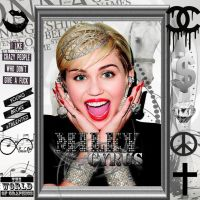 Miley Cyrus Icon For Facebook #3 ! by TheWorldOfGraphic