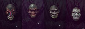 rise of the ape masks by bungot