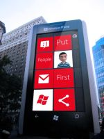 Big Windows Phone by MetroUI