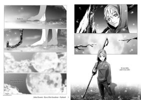 ROTG FanComic + pages 1-2 by VanRah