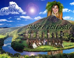 HAWAII BIRTHDAY OF ZURI by FALLEN-ANGEL-F