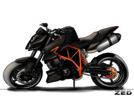 KTM Superduke 990 R by Zed03
