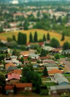 Town Miniature by ArtisticAxis