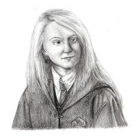 Luna Lovegood by Aura3107
