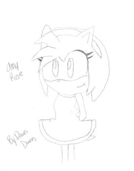 Amy Rose by dawnthebest123