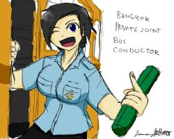 Private joint bus conductor by ngarage