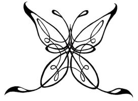 Celtic Butterfly by Mouse---7