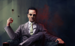 Jim Moriarty by Gwendolaine