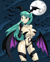 Morrigan's Cat Suit - V1 by Ninjaspartankx5