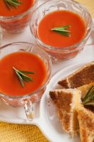 Grilled/Toasted cheese with Tomato Soup by Pancake598
