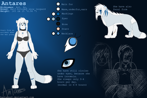 Antares- reference sheet by AntaresIceslayer