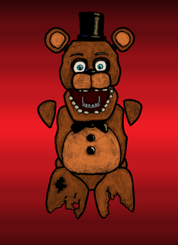 Mspaint Withered Freddy by Trevmarvel08