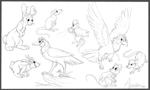 Nimh Sketches by Aseethe