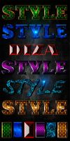 Text styles by Diza - 5 by DiZa-74