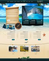 Travel Website Design by yuval10203